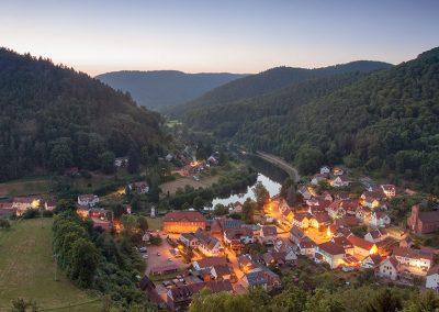 Schönau in the south-west Palatinate