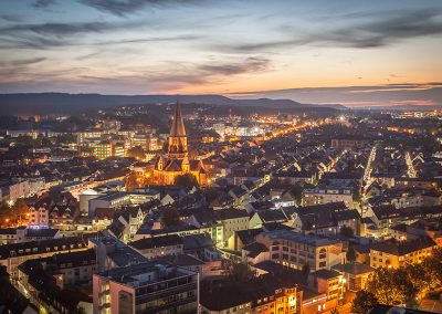 Kaiserslautern am Abend