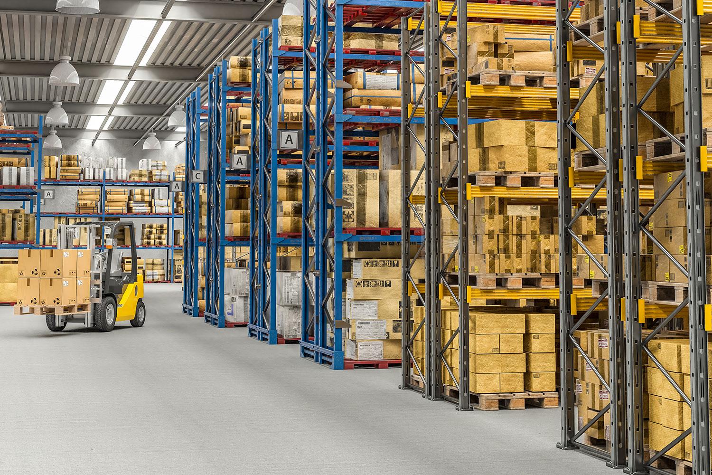 Logistik und Verpackung