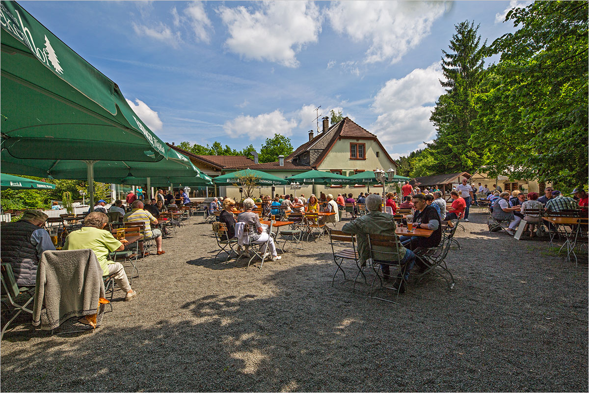 Palatinate hut and beer garden culture