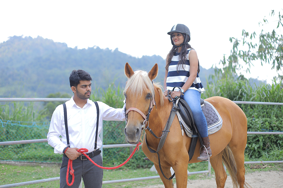 Riding attendant
